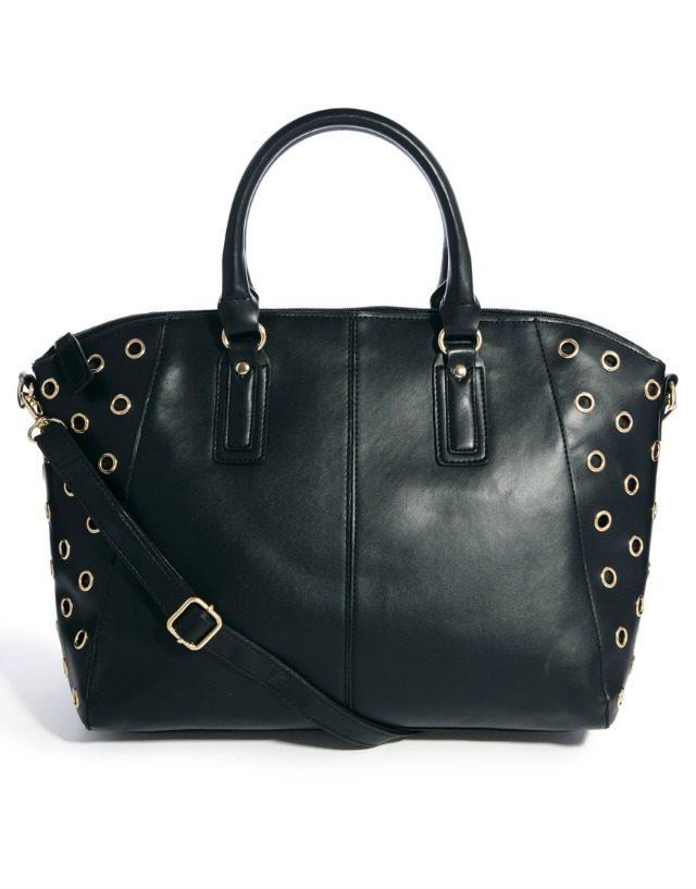 Wendy Eyelet Bowler Bag | York Avenue