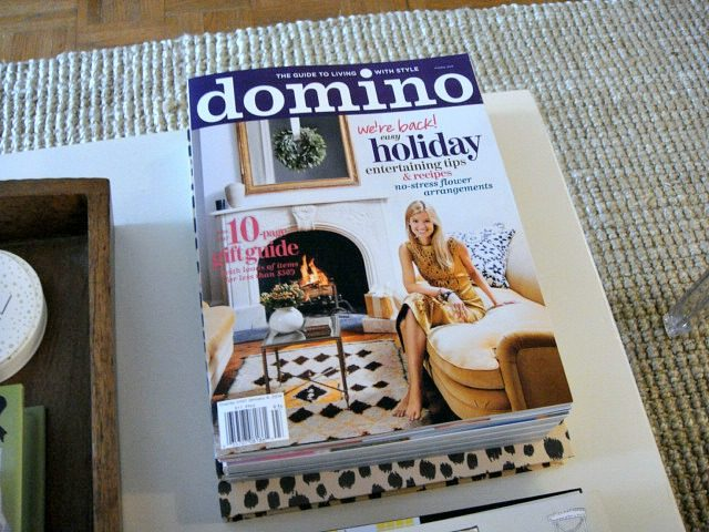 Domino magazine Holiday Issue 2013 | York Avenue