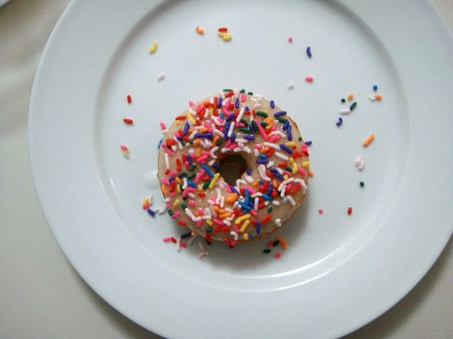 Baked Doughnuts with Sprinkles | York Avenue