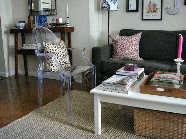 Lucite Louis Ghost Chair | York Avenue
