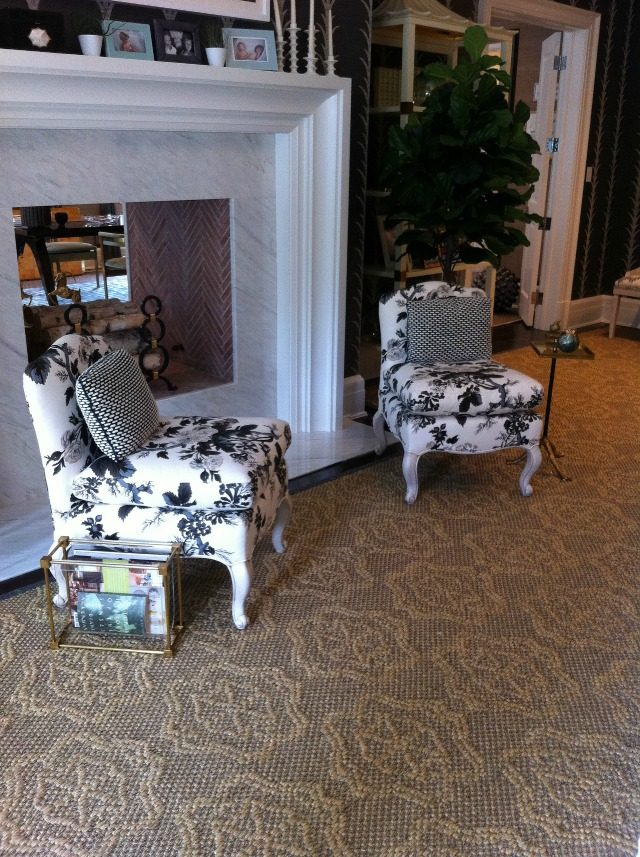 Slipper chairs at the 2013 Hampton Designer Showhouse | York Avenue