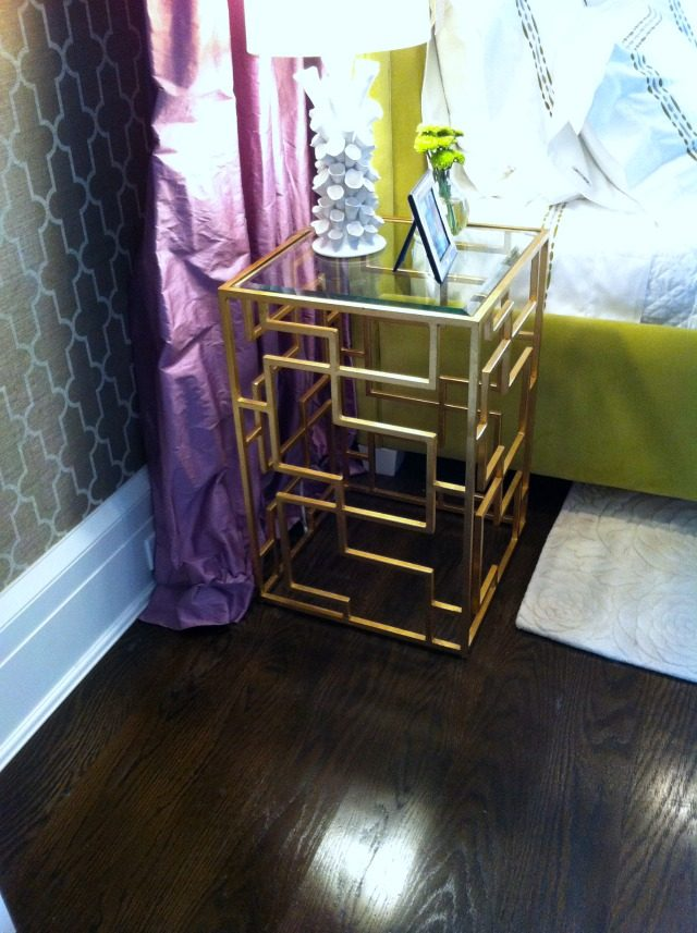Side table at Hampton Designer Showhouse 2013 | York Avenue