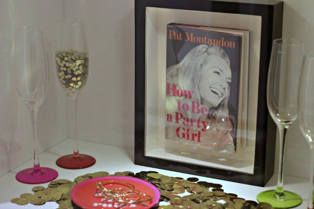 A confetti strewn vignette at Kate Spade's Madison Avenue flagship | York Avenue