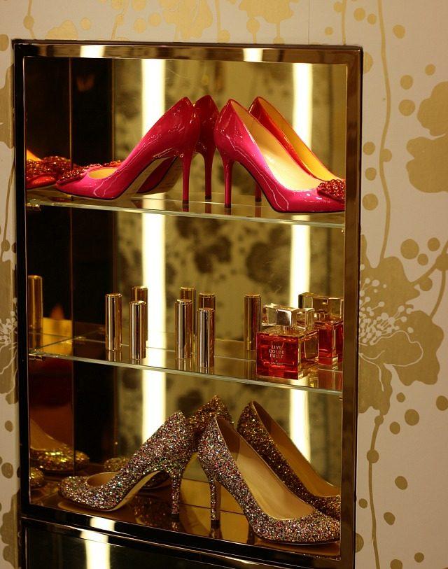 A pink sparkly vignette at KSNY | York Avenue