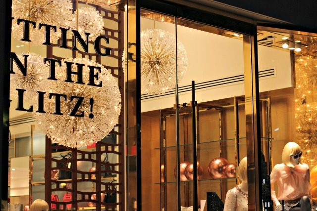 Putting on the glitz! Windows at KSNY's Madison Avenue flagship | York Avenue
