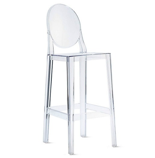 Superbe Lucite Barstools. Louis Ghost Chair Barstools
