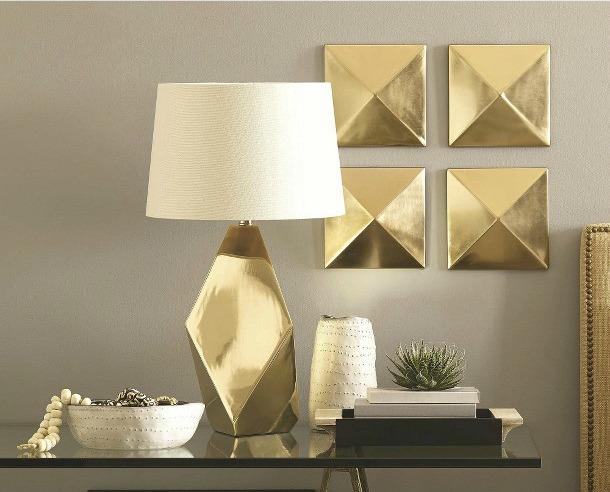 Lookalike For Less Nate Berkus Gold Lamp York Avenue