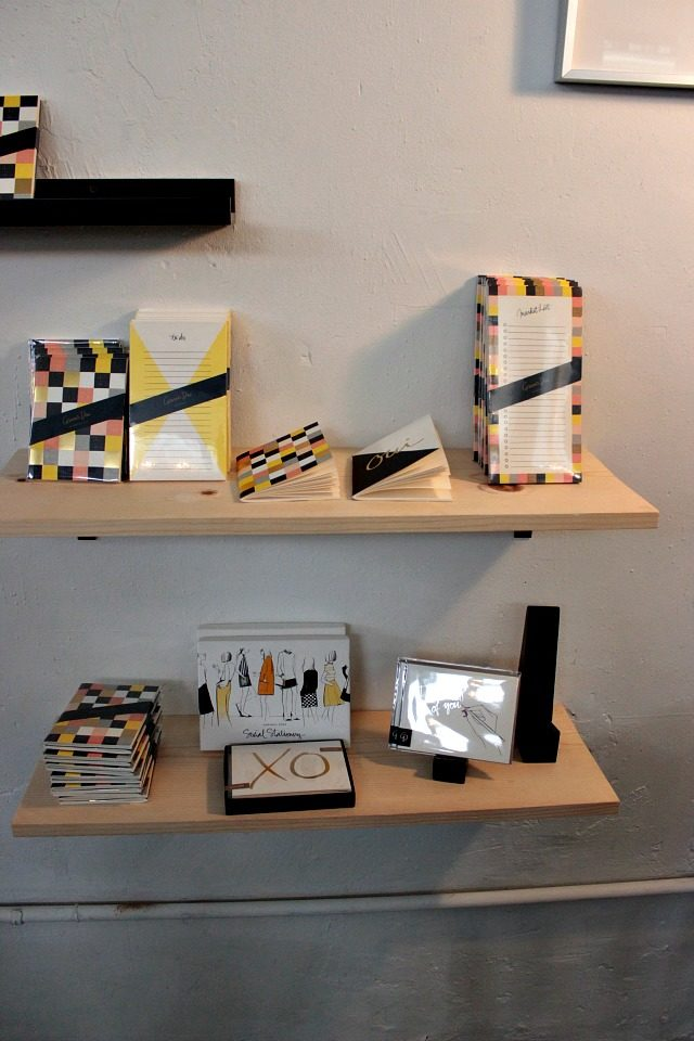 Garance Dore stationery at the Open Studio in New York City