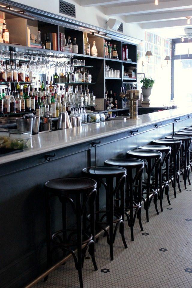 The bar at Tipsy Parson