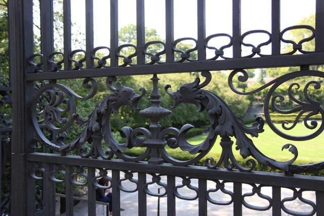 Detail of Vanderbilt Gate