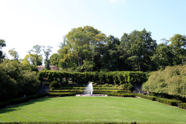 Italian Garden at the Central Park Conservatory Garden