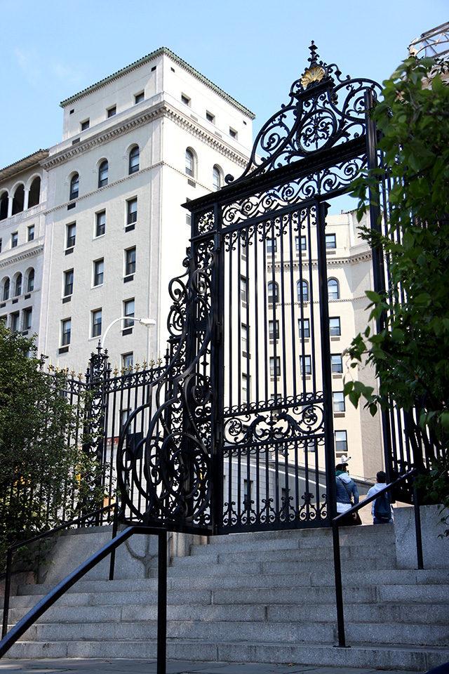 Vanderbilt Gate at Central Park