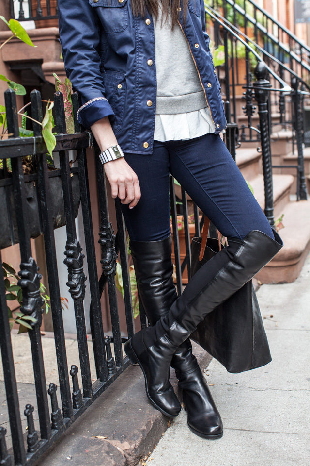 Stuart Weitzman 5050 over the knee boots