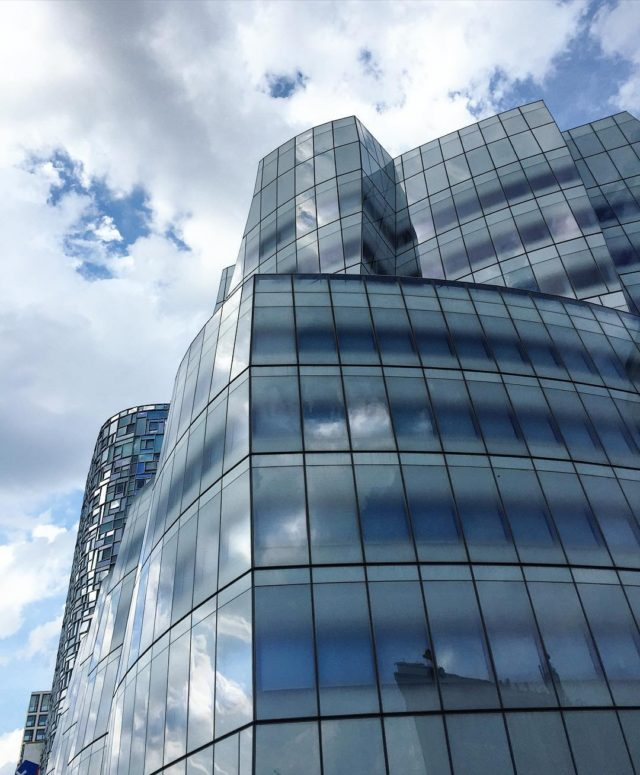Dont forget to look up At the IAC building forhellip