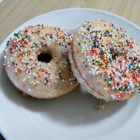 Baked Doughnuts with Sprinkles