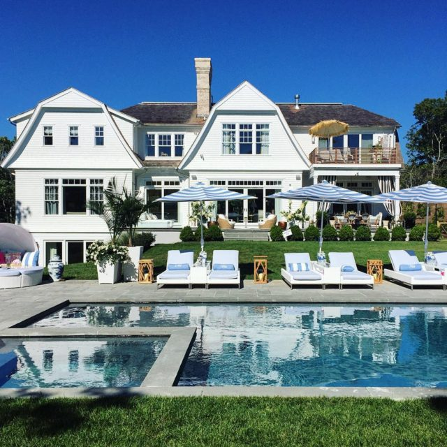 Visited the Hamptons Showhouse today and the pool area designedhellip