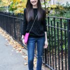 Outfit Post: Pink and Pearls
