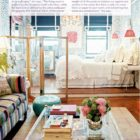 Elizabeth Bauer's Colorful Studio Apartment