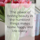 Well Said: The Little Things