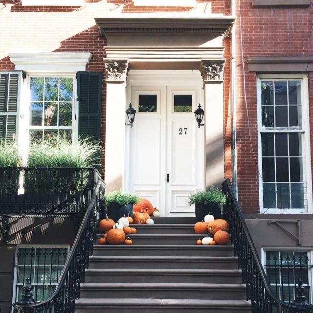 The West Village does October right westvillage pumpkinseason