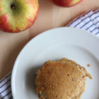 Homemade Apple Cinnamon Pancakes