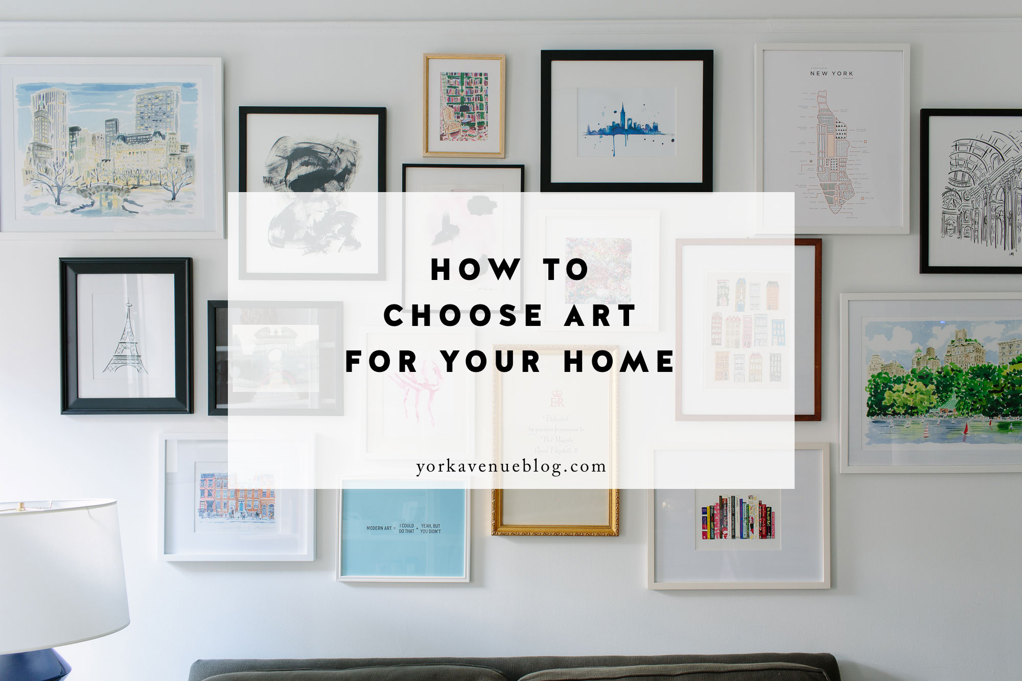 How to Pick Art for Your Home featured by top interior design blog, York Avenue