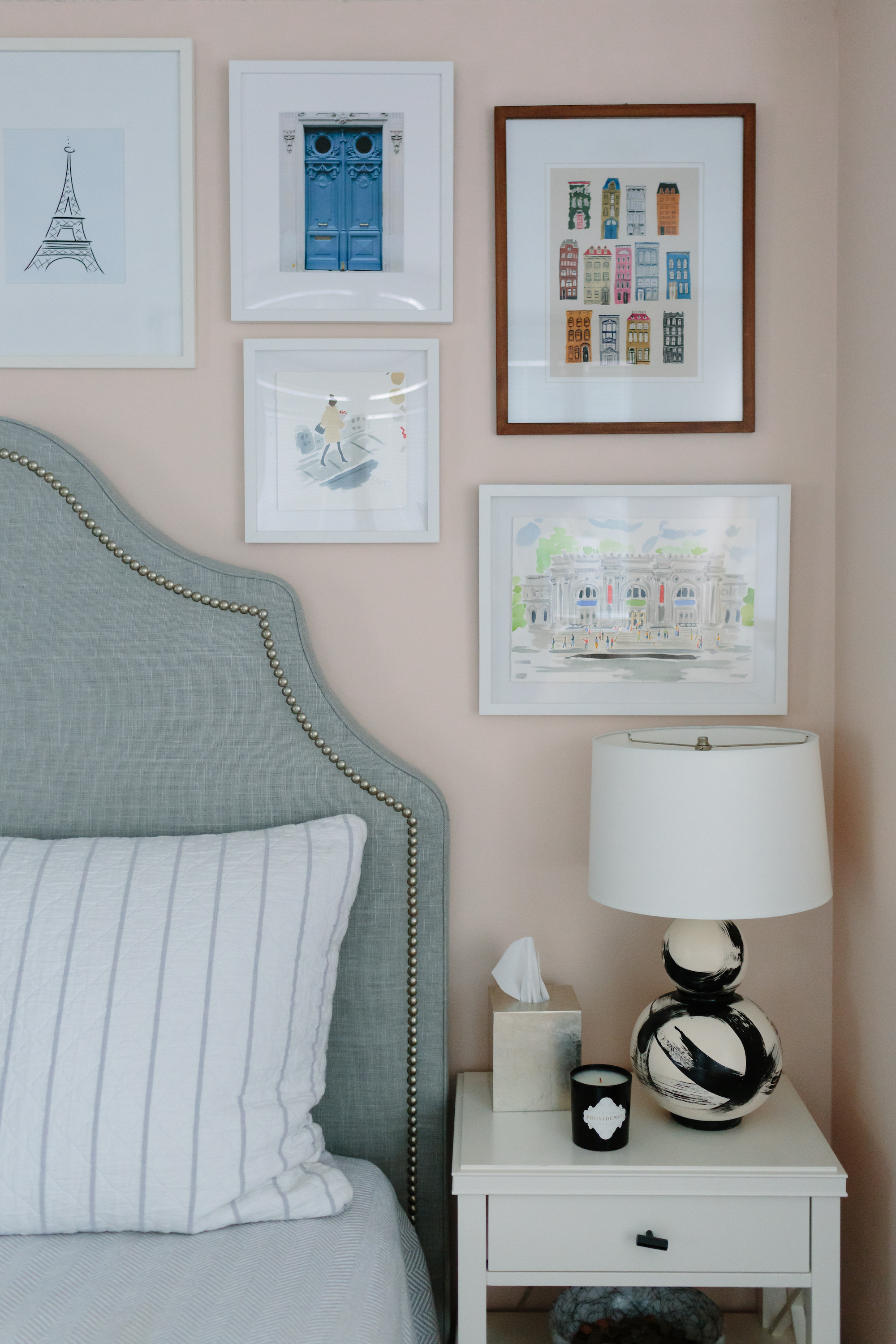 How to Pick Art for Your Home featured by top interior design blog, York Avenue: image of a gallery wall