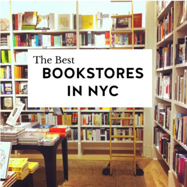 My Favorite NYC Bookstores