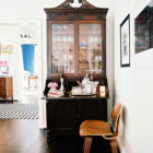 A Small Space Alternative to the Bar Cart (+ I Wrote an Article for Domino!)