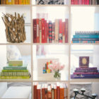Organizing Books by Color