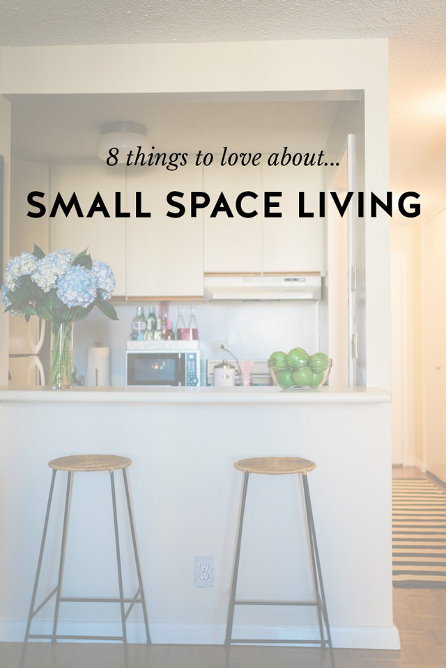 Small space living why i love it york avenue - Small space living ...