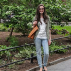 Outfit: Madewell Holepunch Transport Tote