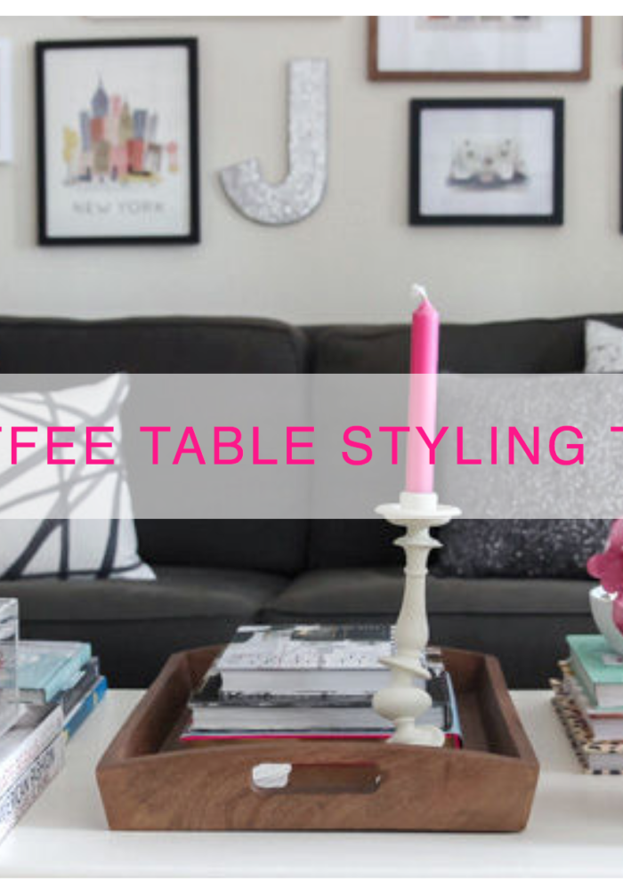 Coffee Table Styling on domino.com