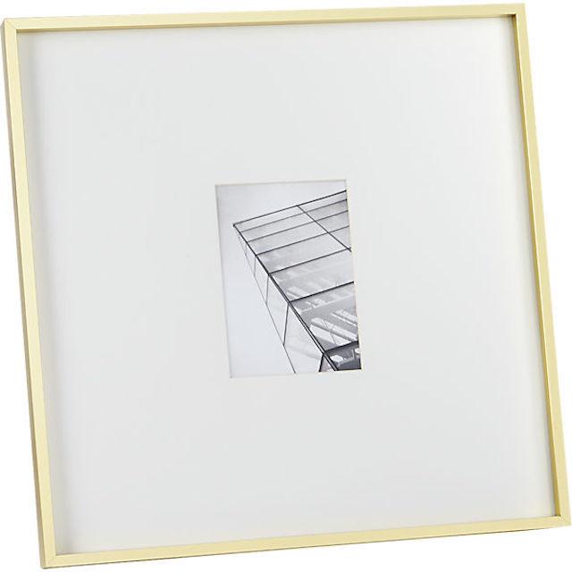 gallery 5x7 brass frame