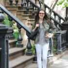 Outfit: White Jeans in the West Village