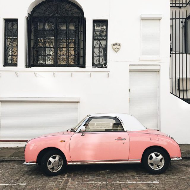 Londoners appreciate pink as much as I do! This ishellip