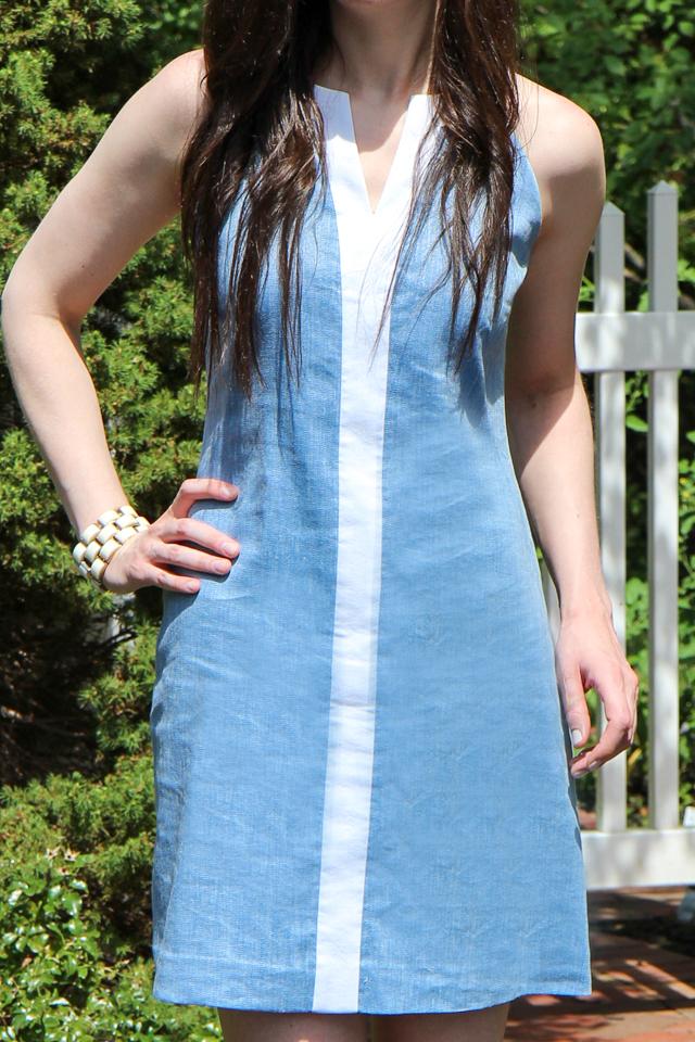 blue dress-8433