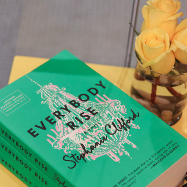 Tea at the Plaza Hotel + Everybody Rise Book Event