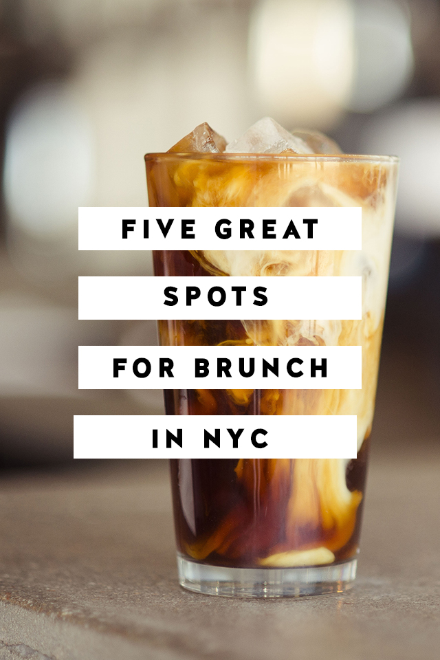 Five Great Spots For Brunch In NYC York Avenue