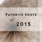 My Favorite Posts from 2015