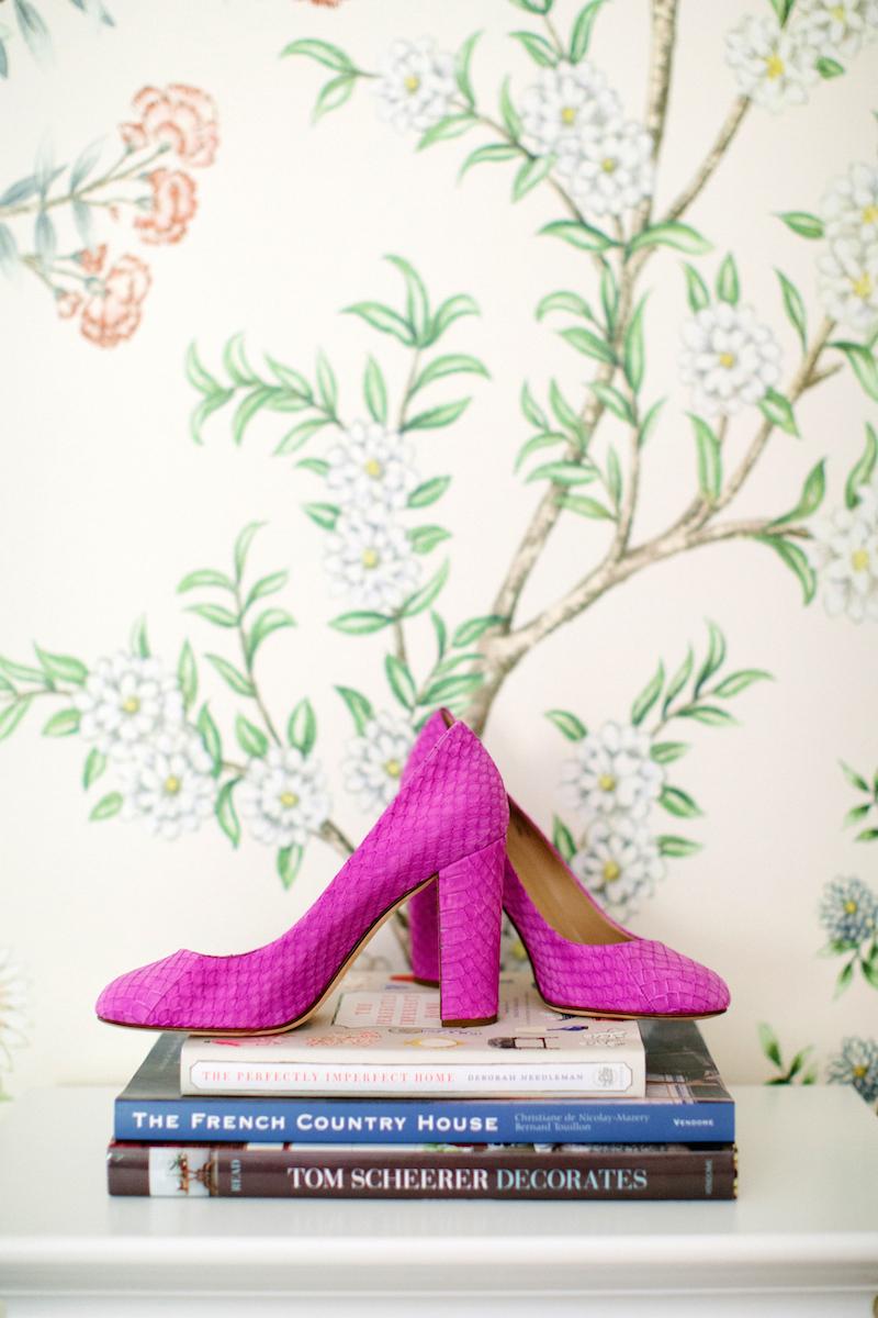 jessie epley pink python heels