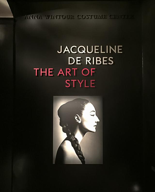 Jacqueline de Ribes Costume Exhibit -0287