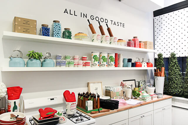 Nyc Guide Kate Spade Home Pop Up Shop York Avenue