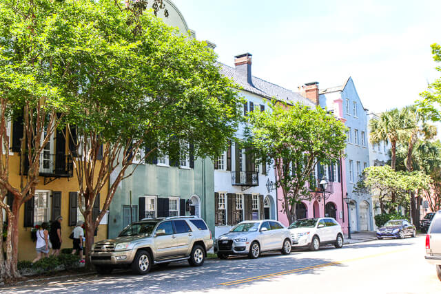 Charleston Rainbow Row-2660