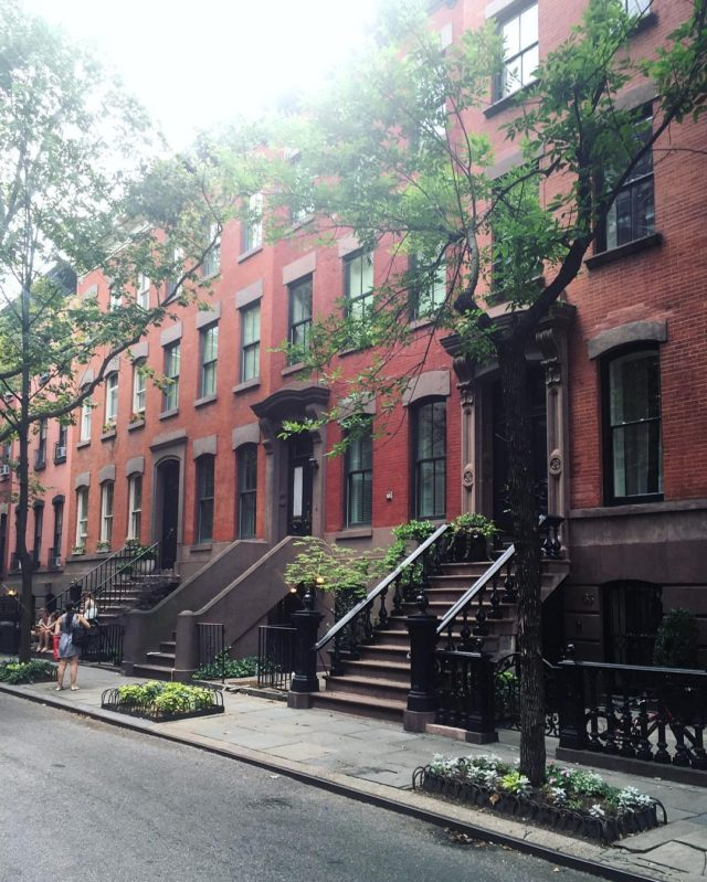West Village walk earlier today with elanalyngross before the hellip