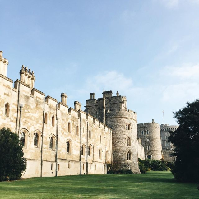 First stop of the day Windsor Castle Obviously ridiculously touristyhellip