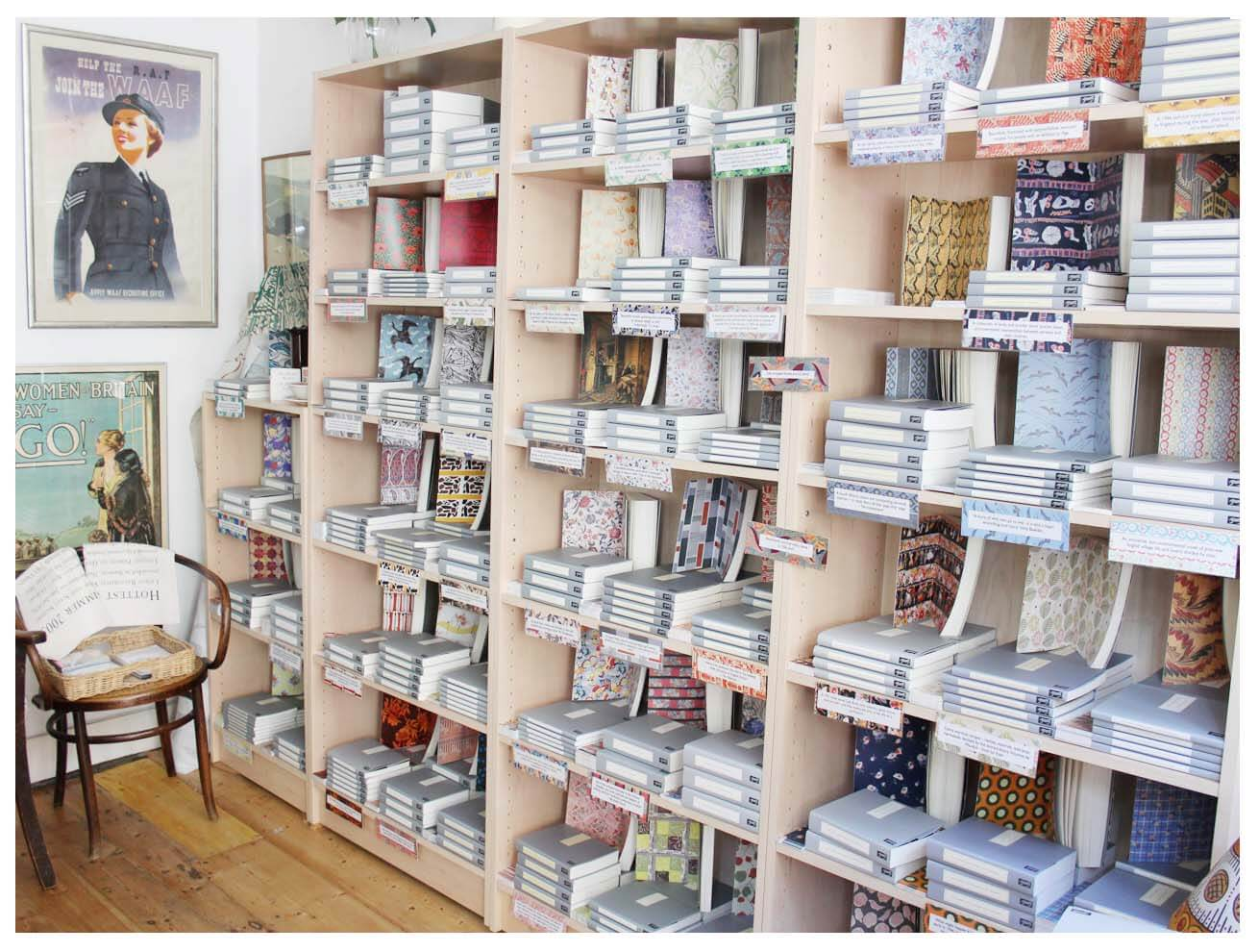 persephone-bookshop-london-thefabuloustimes