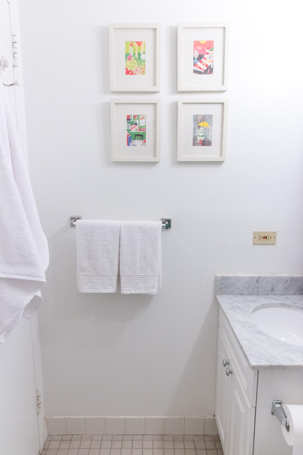 How To Organize A Small Bathroom. Eileen Fisher Garnet Hill Bathroom  Styling 5025