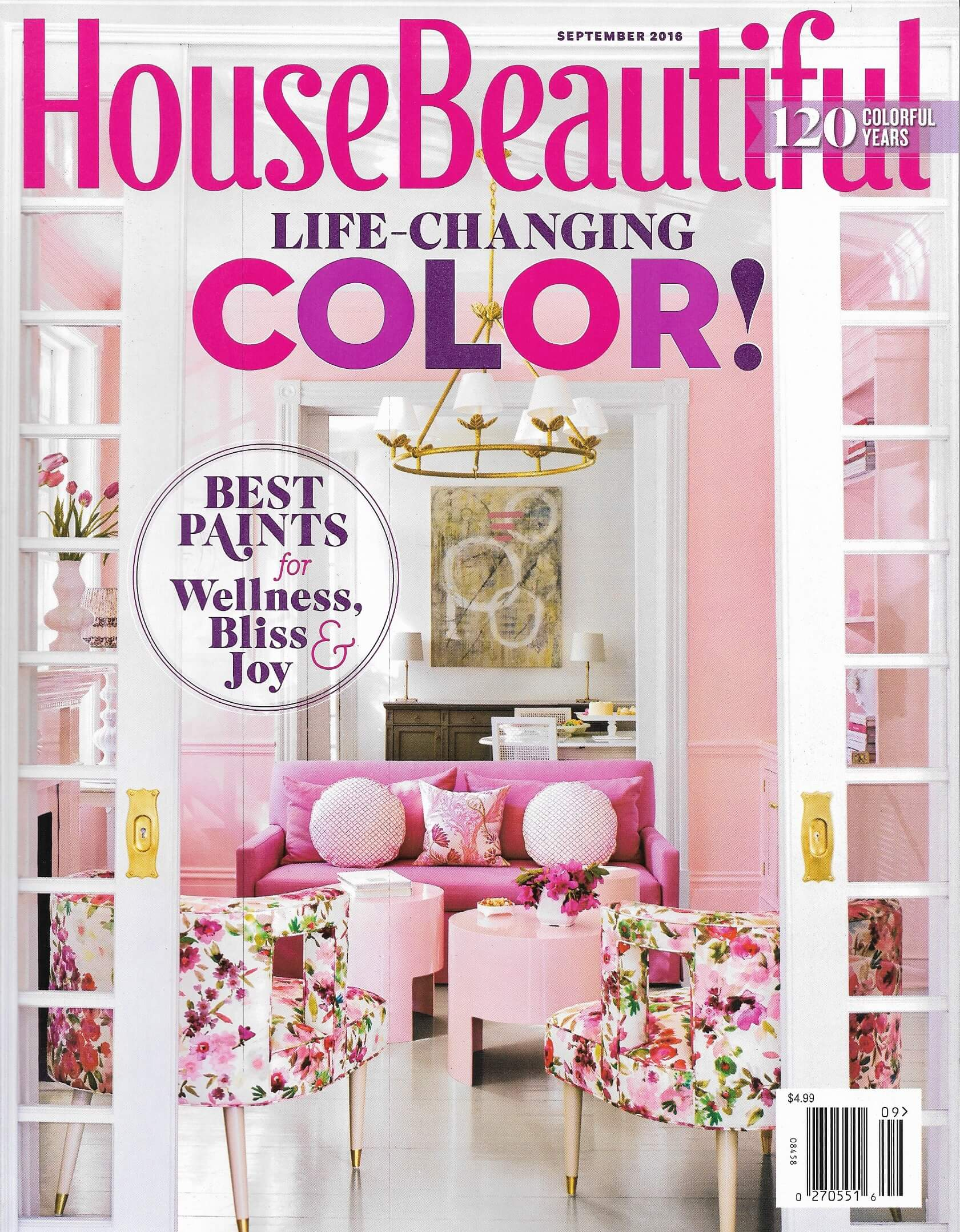 House Beautiful September Issue 2016