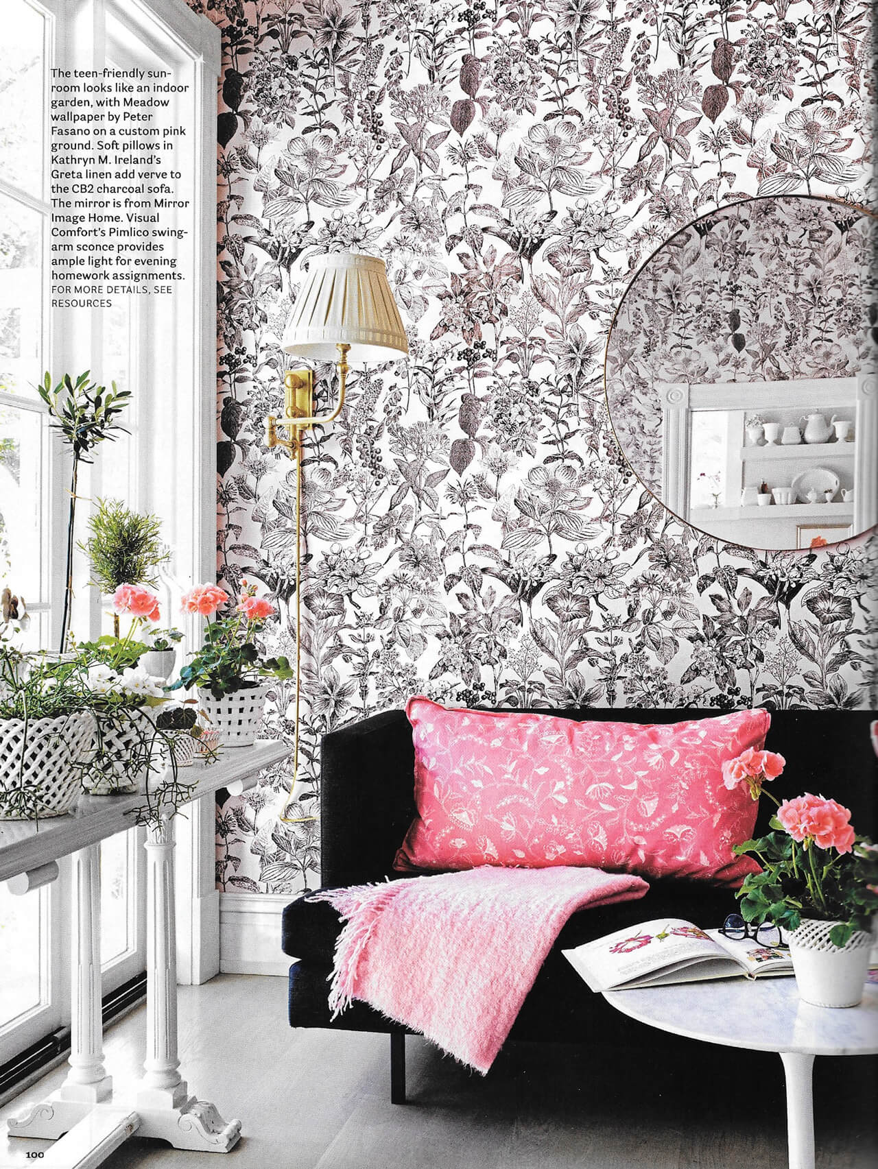 Pink Perfection Suellen Gregory For House Beautiful